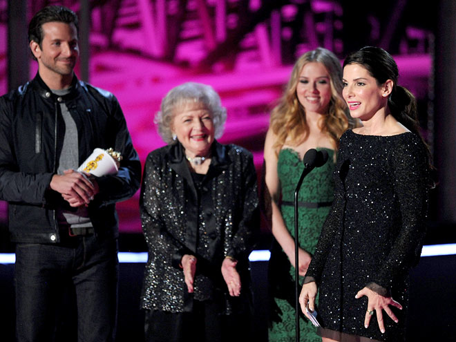 STAYING POWER photo | Betty White, Bradley Cooper, Sandra Bullock, Scarlett Johansson