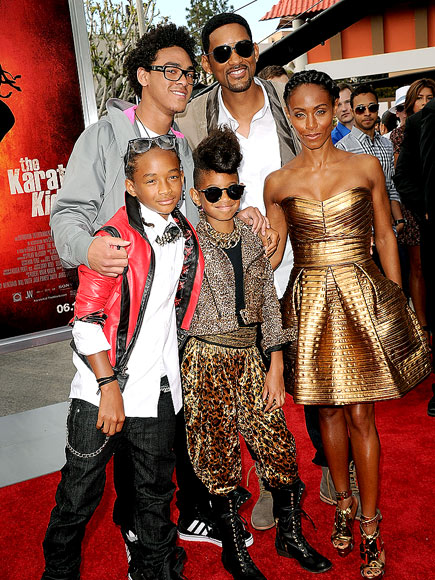 will smith family pictures. Jaden Smith, Will Smith