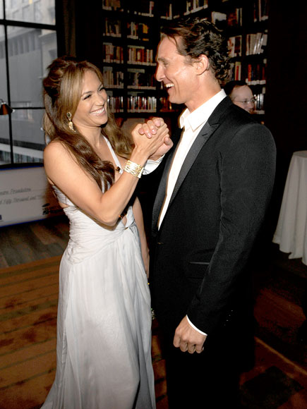 'WEDDING' RECEPTION photo | Jennifer Lopez, Matthew McConaughey