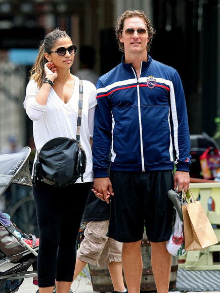 CURB APPEAL photo | Camila Alves, Matthew McConaughey