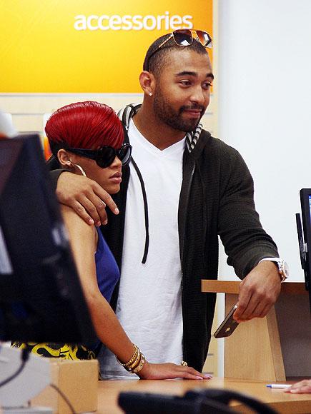 WHAT A CONNECTION! photo | Matt Kemp, Rihanna