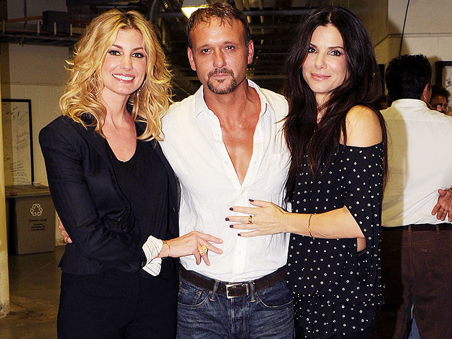 WIFE SWAP photo | Faith Hill, Sandra Bullock, Tim McGraw