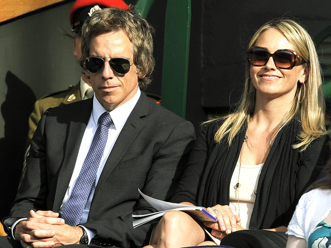 TWO FOR TENNIS photo | Ben Stiller, Christine Taylor
