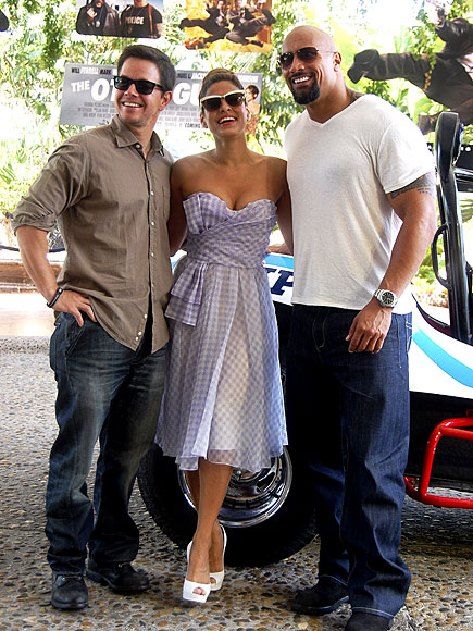 THE SWEET SPOT photo | Dwayne ''The Rock'' Johnson, Eva Mendes, Mark Wahlberg
