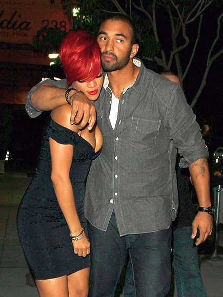 HOME RUN photo | Matt Kemp, Rihanna
