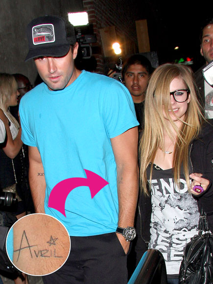 TAT-ALLY IN LOVE photo | Avril Lavigne, Brody Jenner