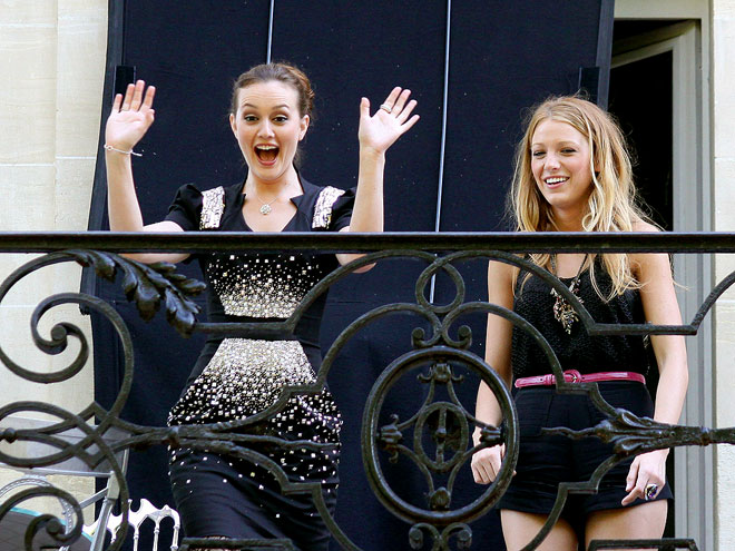 PARIS MATCH photo | Blake Lively, Leighton Meester