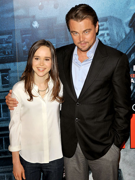COZY COSTARS photo | Ellen Page, Leonardo DiCaprio