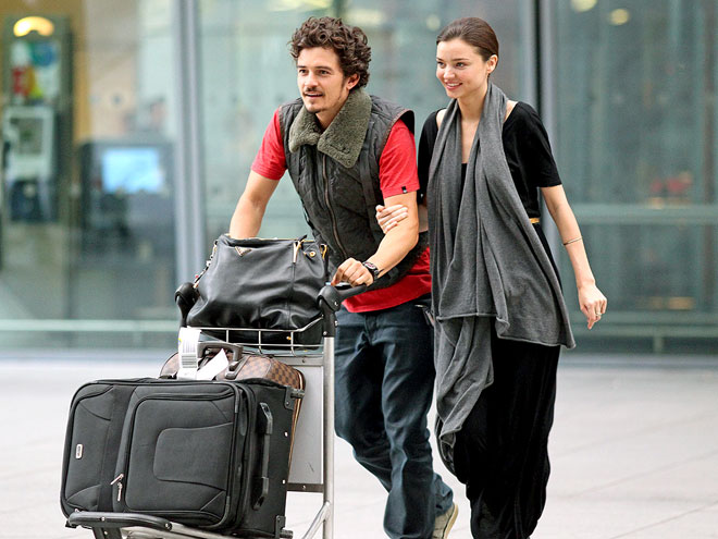 MATCHED UP photo | Miranda Kerr, Orlando Bloom