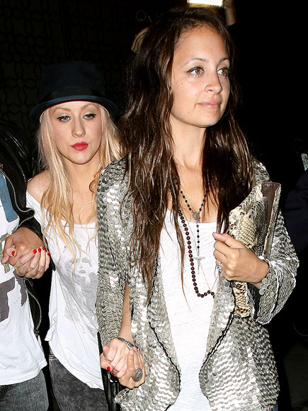 SO CLUTCH photo | Christina Aguilera, Nicole Richie