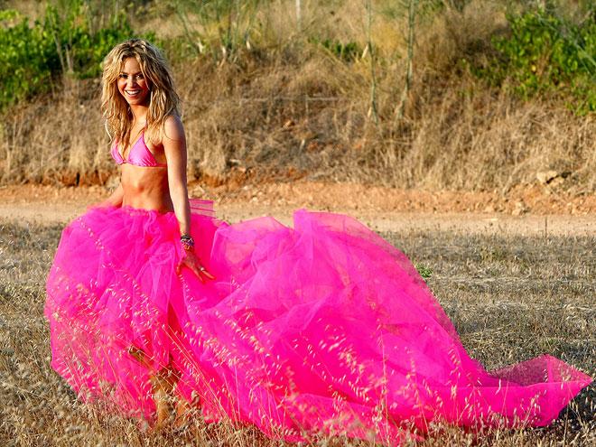 PINK FLAMENCO photo   Shakira