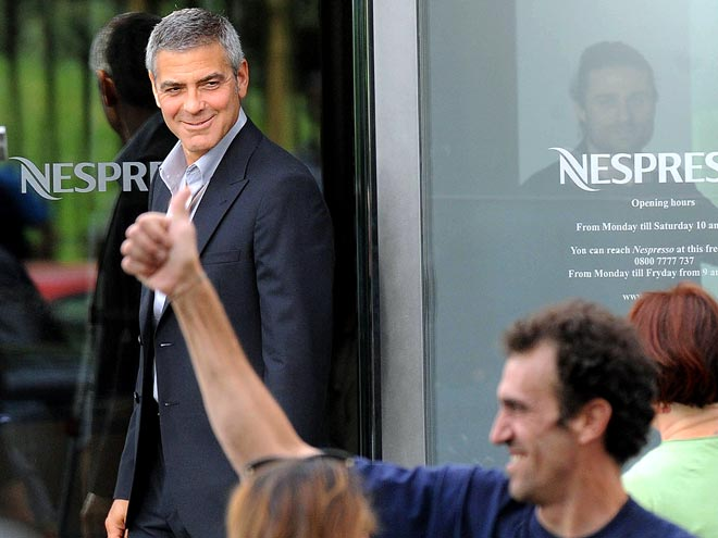 COFFEE PERK photo | George Clooney