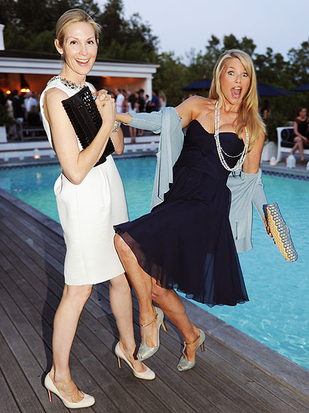 GET WET photo | Christie Brinkley, Kelly Rutherford