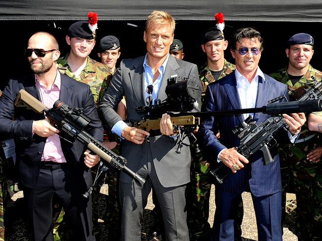 SUITS OF ARMOUR photo | Dolph Lundgren, Jason Statham, Sylvester Stallone