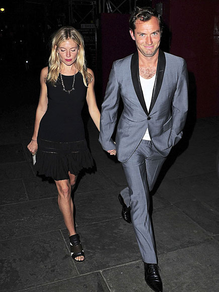 SUPPER CLUB photo | Jude Law, Sienna Miller
