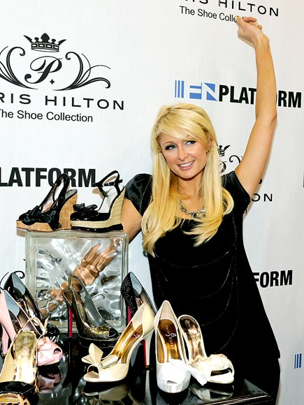 'SHOE'-IN photo | Paris Hilton