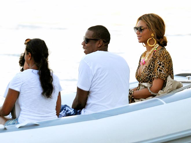 ROCKIN' THE BOAT photo | Beyonce Knowles, Jay-Z