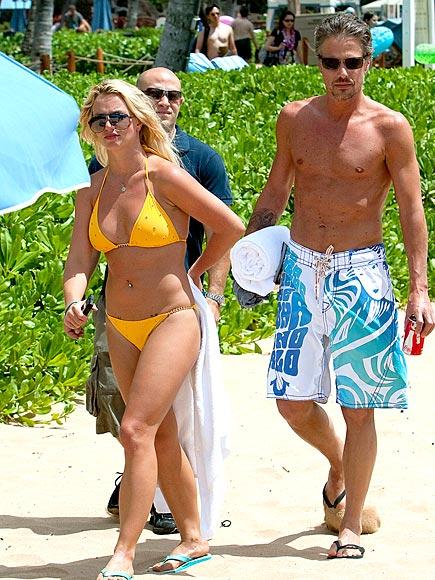 Britney spears bikini and thong
