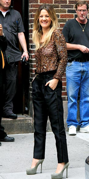 GILDED GIRL photo   Drew Barrymore