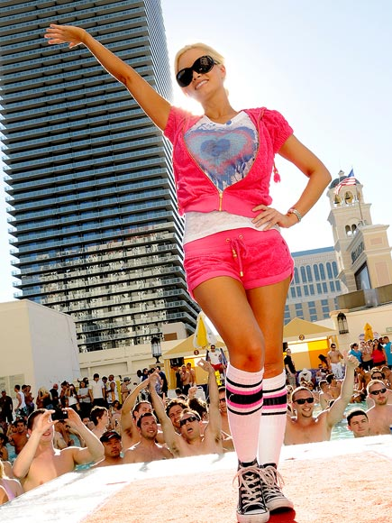 POOLSIDE SURPRISE photo | Holly Madison