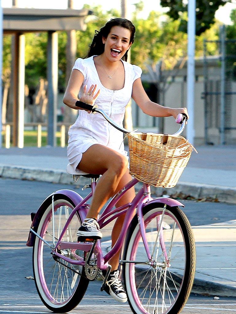 'GLEE'-WHEELING  photo   Lea Michele