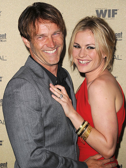 Just Married photo | Anna Paquin, Stephen Moyer