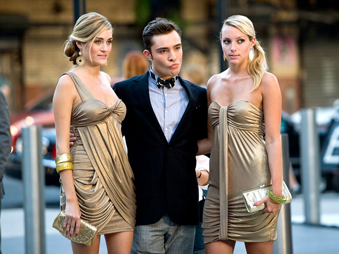 DOUBLE THE PLEASURE photo | Ed Westwick