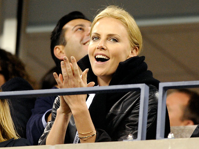 CAUSING A RACKET photo | Charlize Theron