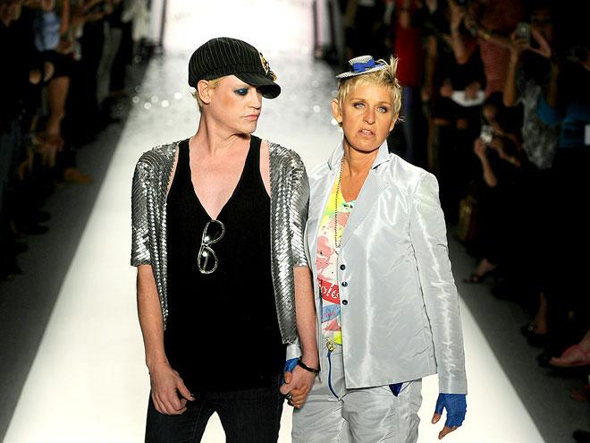 IT'S A WALK-OFF! photo | Ellen DeGeneres, Richie Rich