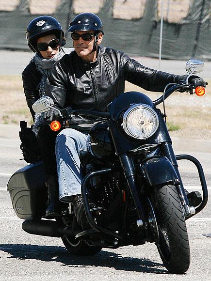 Hog Heaven photo   Elisabetta Canalis, George Clooney