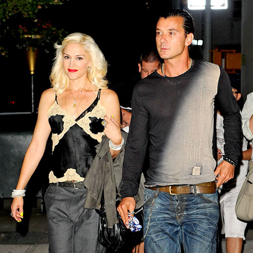 CITY SLICKERS photo | Gavin Rossdale, Gwen Stefani