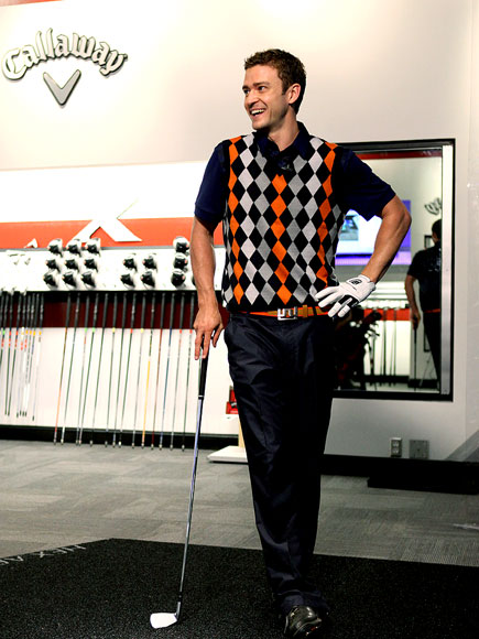 TEE TIME  photo | Justin Timberlake