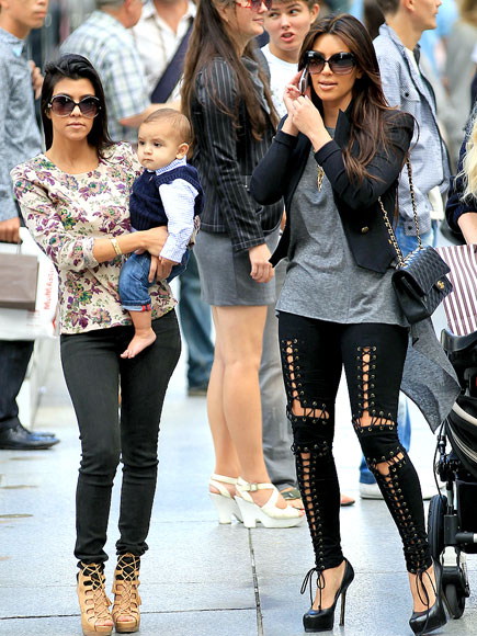 SHOP TALK photo | Kim Kardashian, Kourtney Kardashian