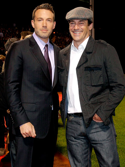 ON THE 'TOWN' photo | Ben Affleck, Jon Hamm