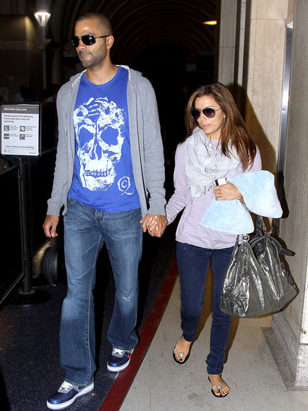 NIGHT FLIGHT photo | Eva Longoria, Tony Parker