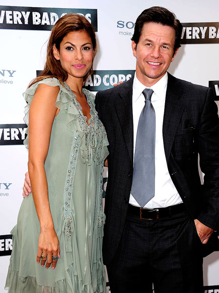 PARISIAN PAIRING photo | Eva Mendes, Mark Wahlberg