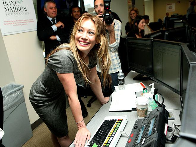 CHARITABLY CHIC photo | Hilary Duff