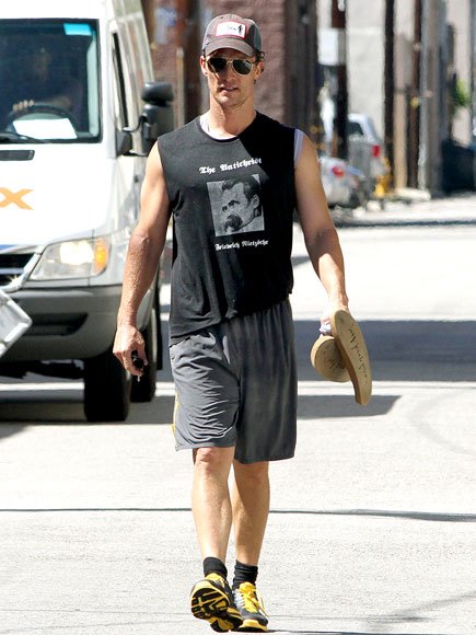 GYM PHILOSOPHY photo | Matthew McConaughey