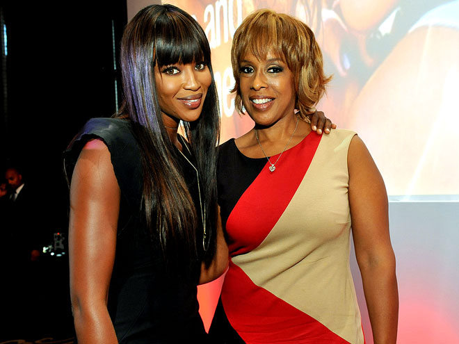 LUNCH BUDDIES photo | Gayle King, Naomi Campbell