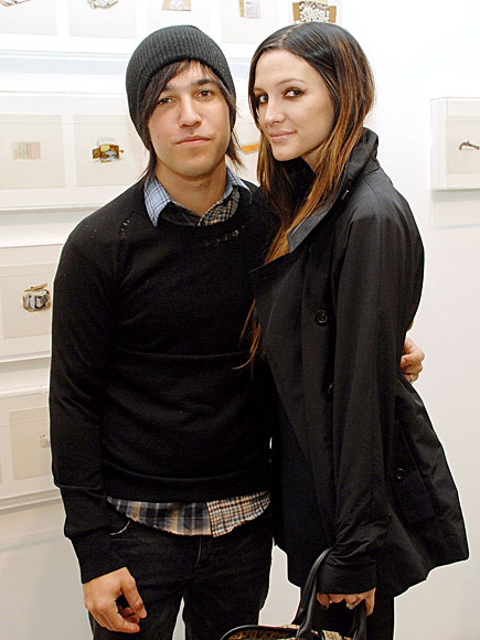PATRON OF THE ARTS photo | Ashlee Simpson, Pete Wentz