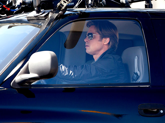 DOUBLE PARKING photo | Brad Pitt