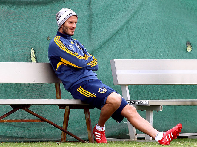 BENCHWARMER photo | David Beckham