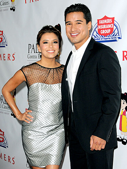 TAKING A STAND photo | Eva Longoria, Mario Lopez