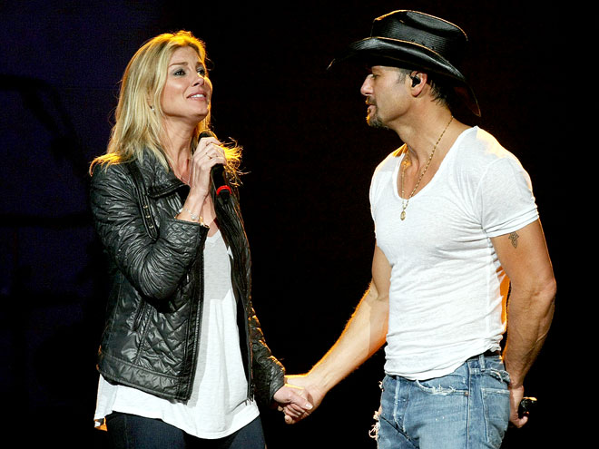 VOCAL SUPPORTER photo | Faith Hill, Tim McGraw