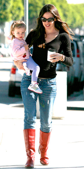 'BEAN'-Y BABY photo | Jennifer Garner