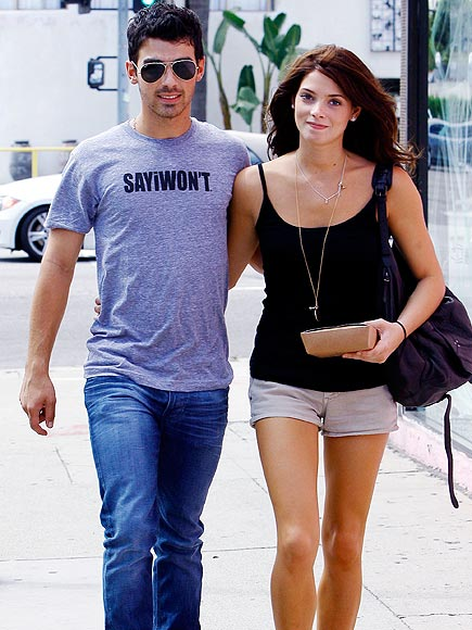 DARE TO WEAR photo | Ashley Greene, Joe Jonas