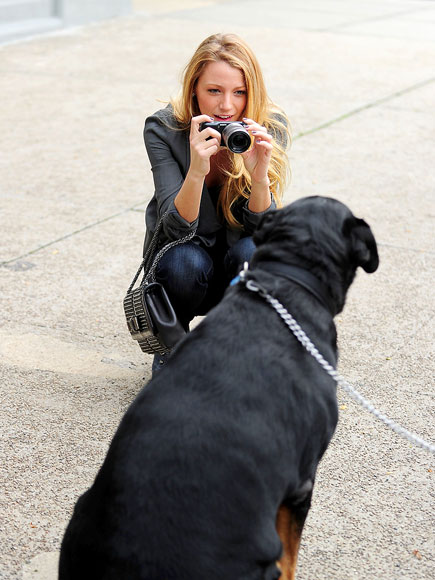 POOCH'S POSE photo | Blake Lively