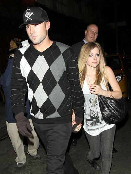 TRUE GLOVE photo | Avril Lavigne, Brody Jenner