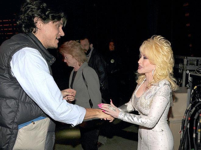'FAME' GAME photo | Dolly Parton, John Mayer