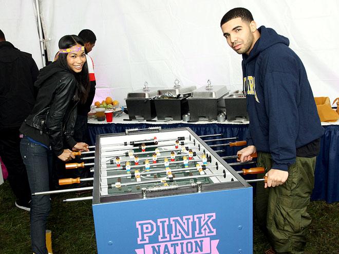 TABLE MATES photo | Chanel Iman, Drake